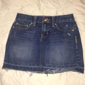 Old navy girls jean skirt